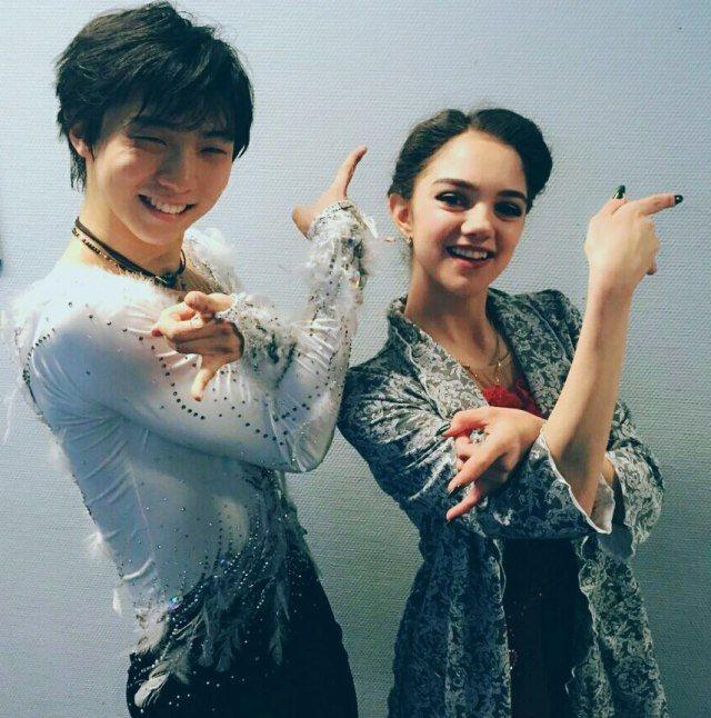 юдзуру ханю и его девушка