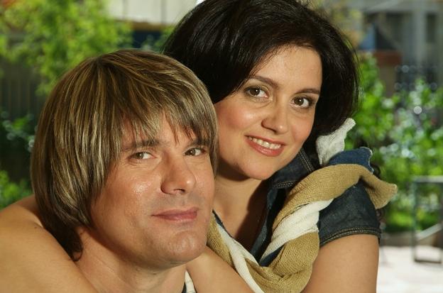 Николай Трубач и его жена