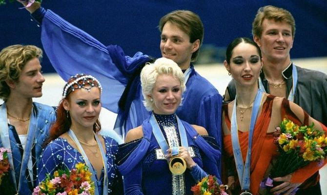 оксана грищук и евгений платов олимпийские игры в нагано