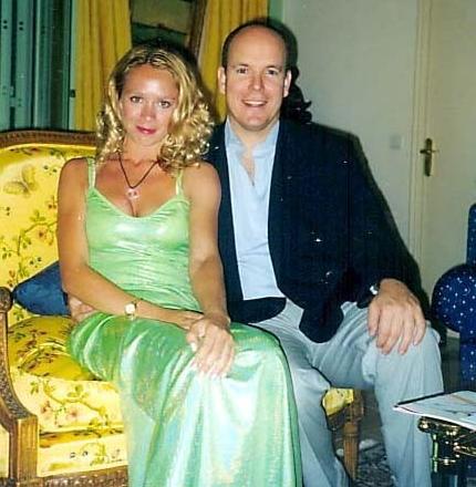 Оксана Грищук и принц Альберт