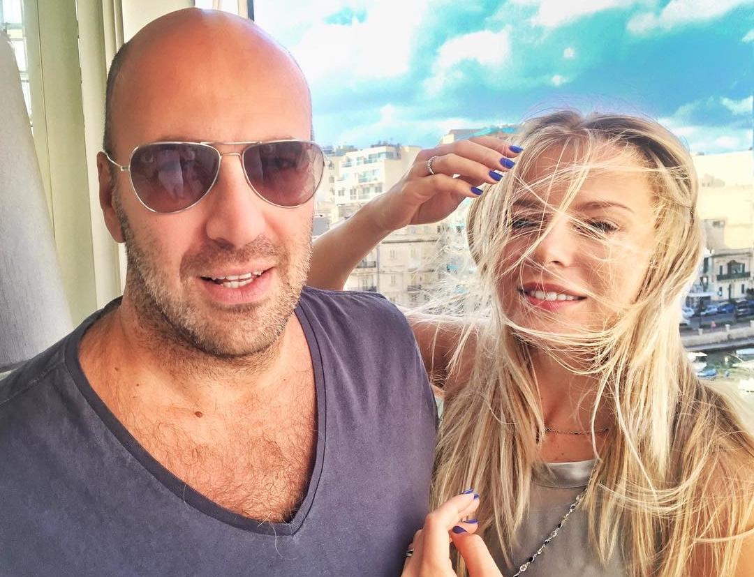 Ростислав Хаит и жена Ольга Рыжкова
