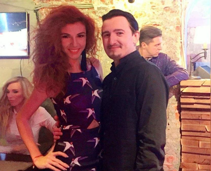 Влад Кадони и его девушка Евгения Шмитд