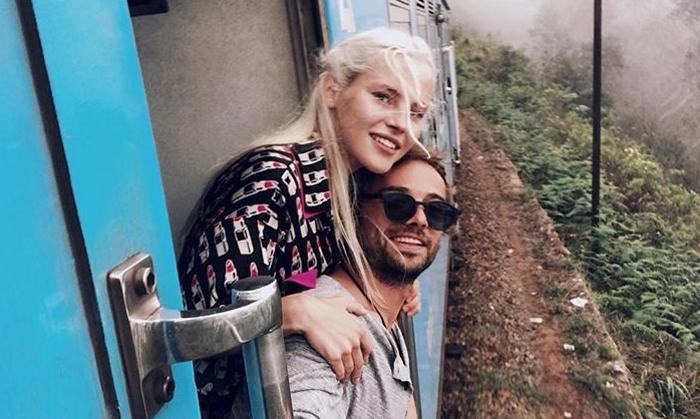 Илья Глинников и его новая девушка