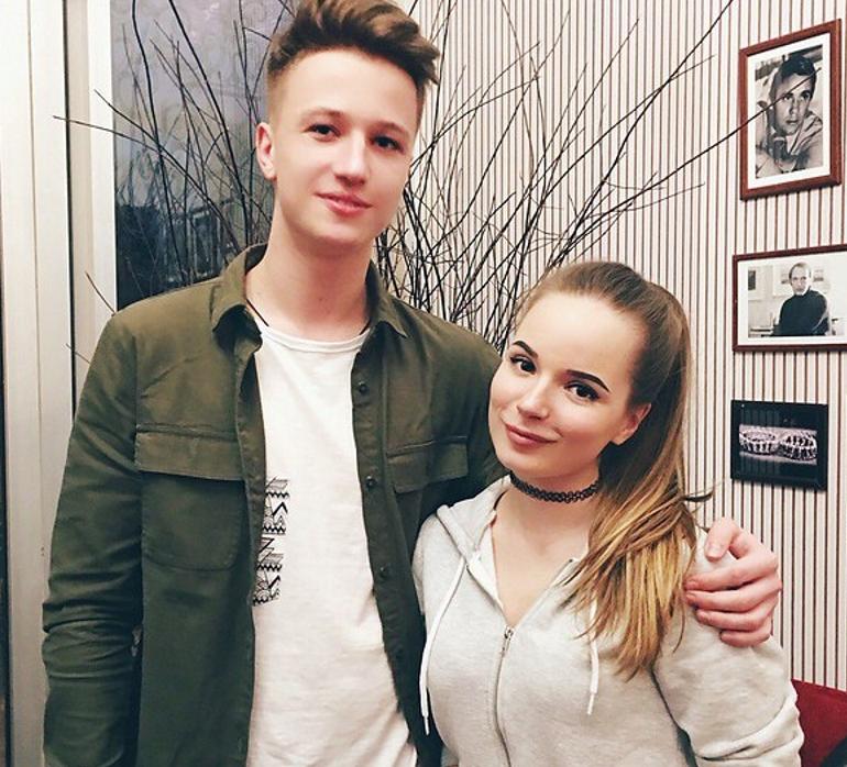 ЯеГо и его девушка Саша Спилберг