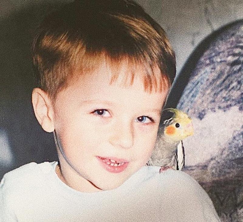 Ян Гордиенко - детское фото