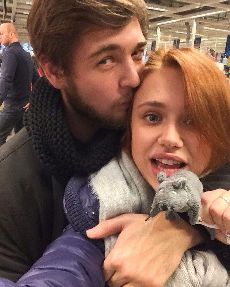 Мария Гамаюн и ее муж Иван Гамаюн