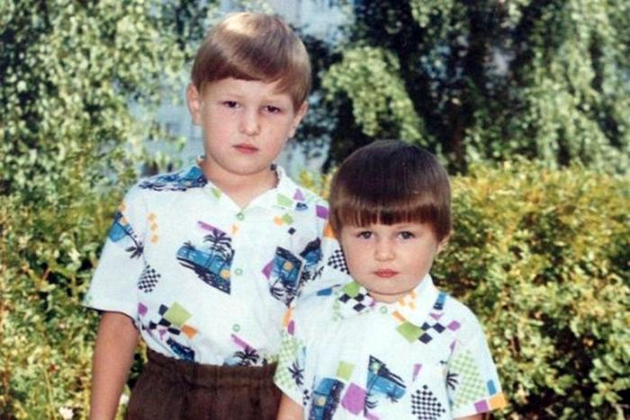 Владимир Минеев в детстве