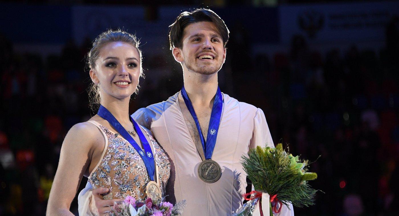 Иван Букин и Александра Степанова 2017