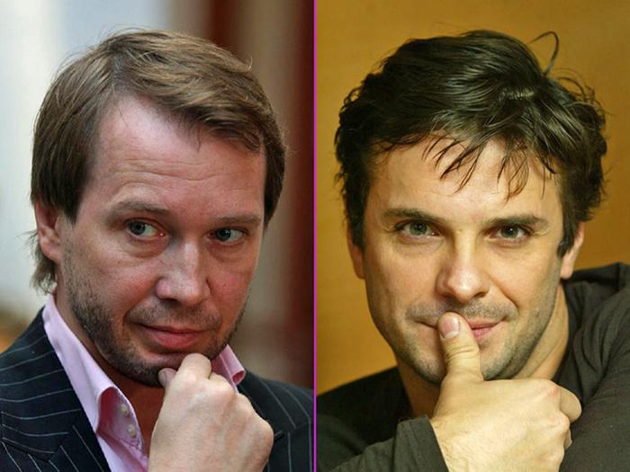 Евгений Миронов и Сергей Астахов