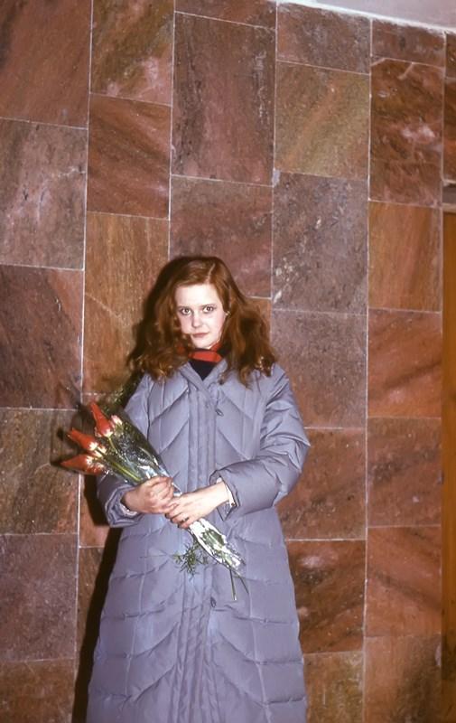 вера трофимова во время работы в театре