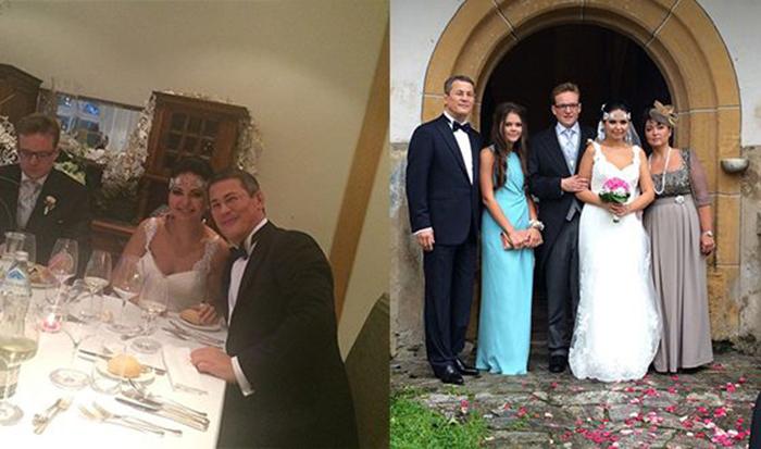 Радий Хабиров на свадьбе дочери Светланы