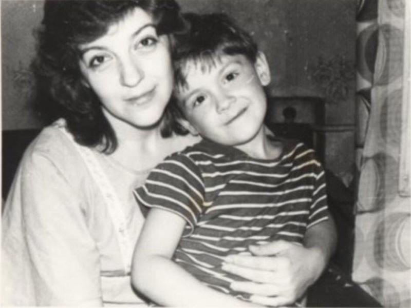 леонид овруцкий и мама
