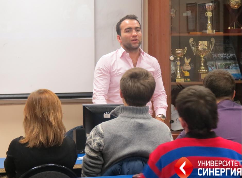 Камил Гаджиев заведующий кафедрой менеджмента спортивных единоборств
