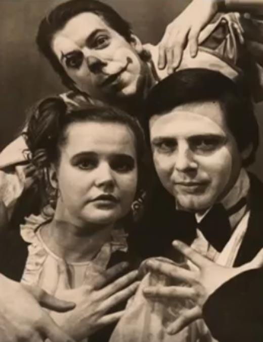 Вера Трофимова в театральном училище