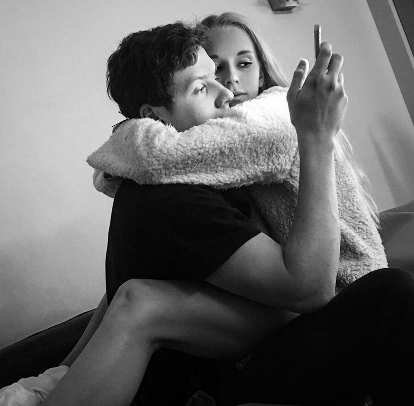 Яна Кудрявцева с Михаилом Кулагиным