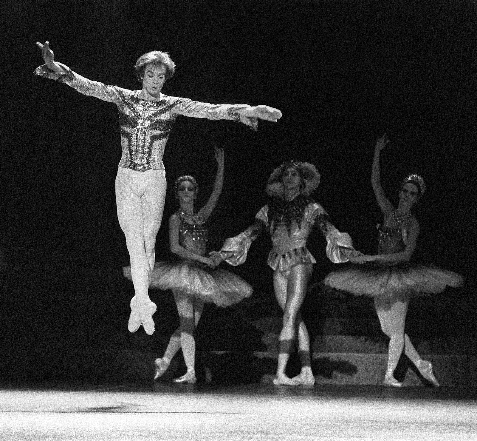 рудольф нуриев в париже 1971