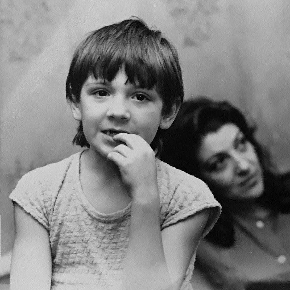 Леонид Овруцкий с мамой