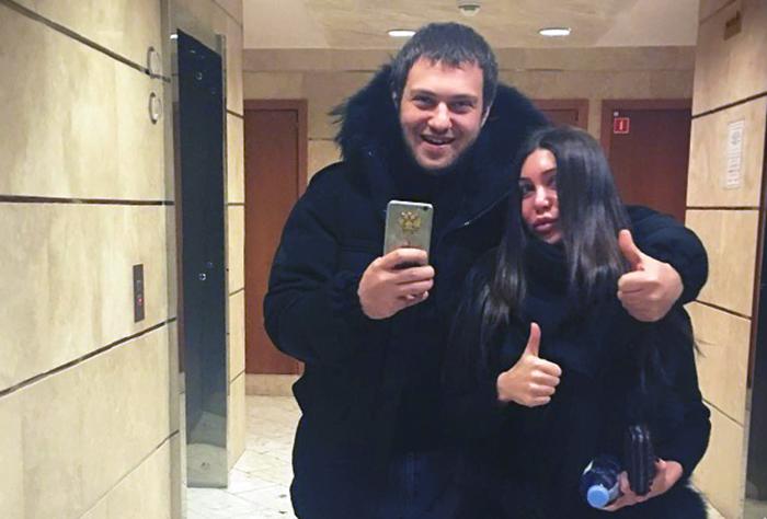 личный фото Давид Кемулария с Марой Багдасарян
