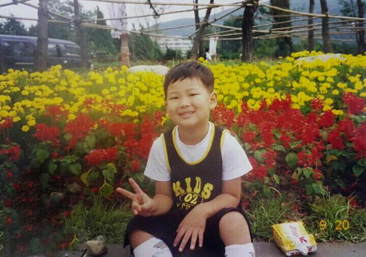 Ким Намджун в детстве