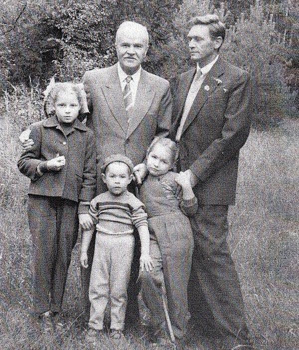 вячеслав Никонов в детстве