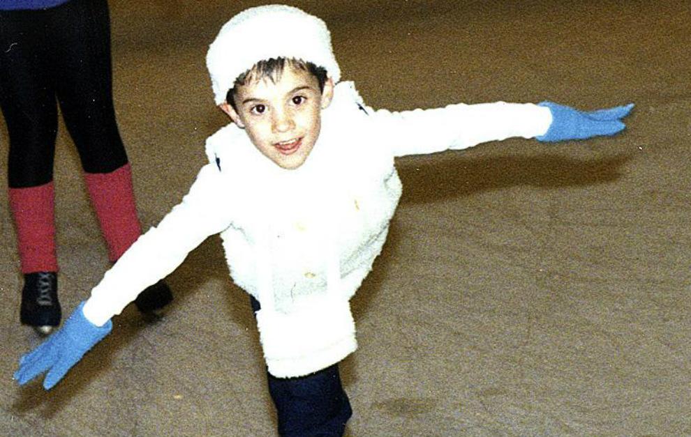Хавьер Фернандес в детстве