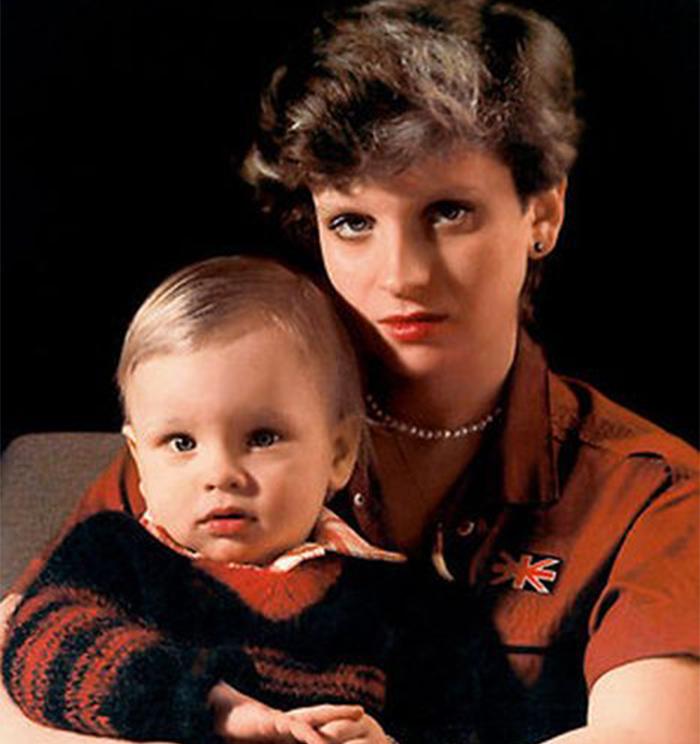 эмма малинина с сыном антоном