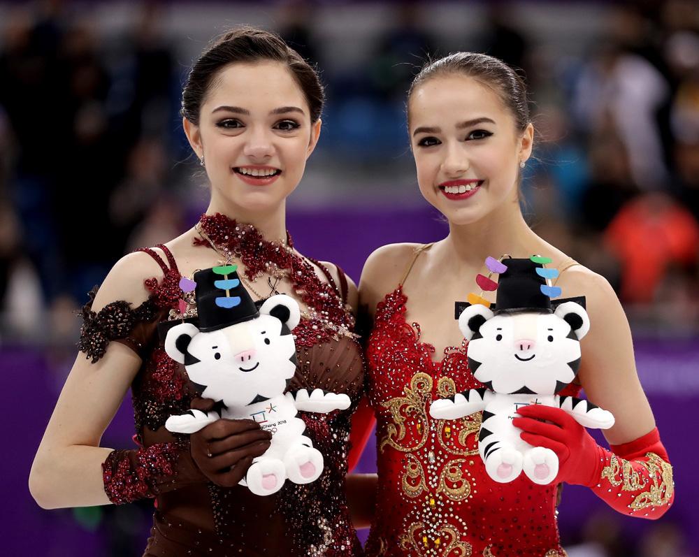 евгения медведева с Алиной Загитовой