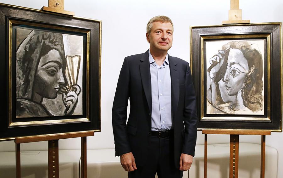 дмитрий рыболовлев коллекция картин