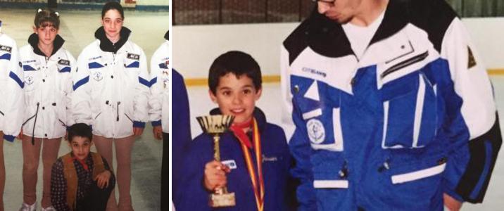 хавьер Фернандес на льду в детстве