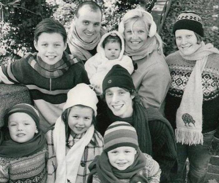 ник робинсон семья