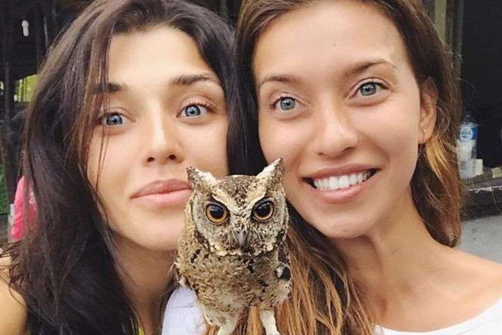 Алина Астровская и Регина Тодоренко
