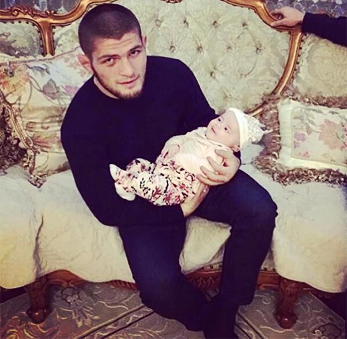 хабиб нурмагомедов  с сыном