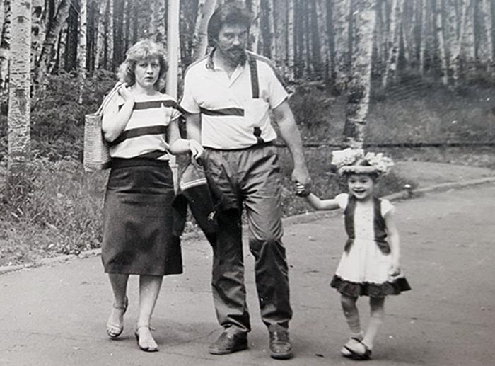 мария кравченко в детстве