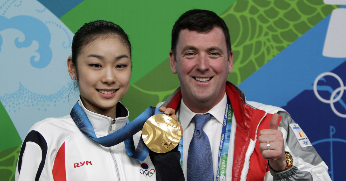 Брайан О́рсер / Brian Orser & Toronto Cricket Skating Curling Club - Страница 16 Brajan-Orser-i-YUna-Kim