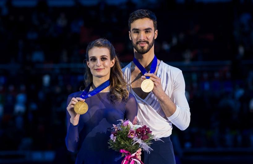 Чемпионы мира Габриэла Пападакис и Гийом Сизерон
