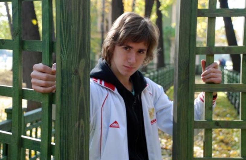 Даниил Глейхенгауз в юности