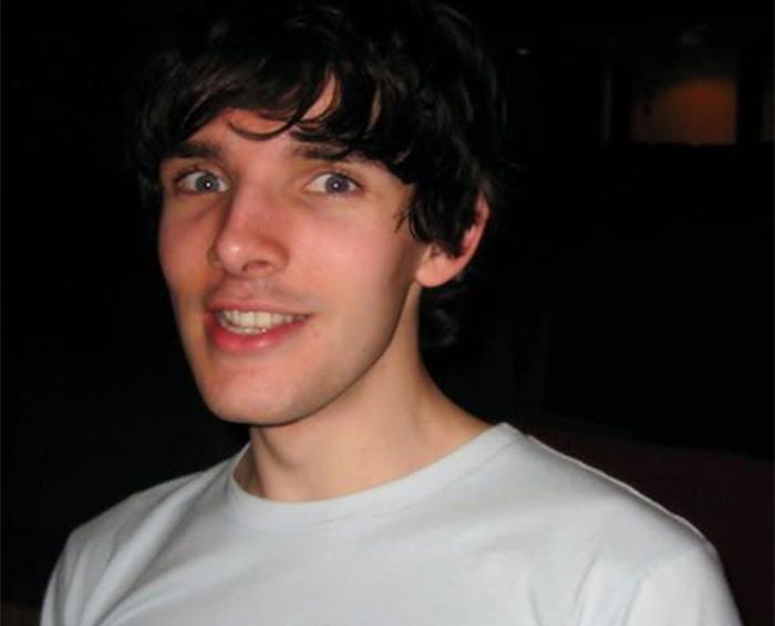 Колин Морган в молодости