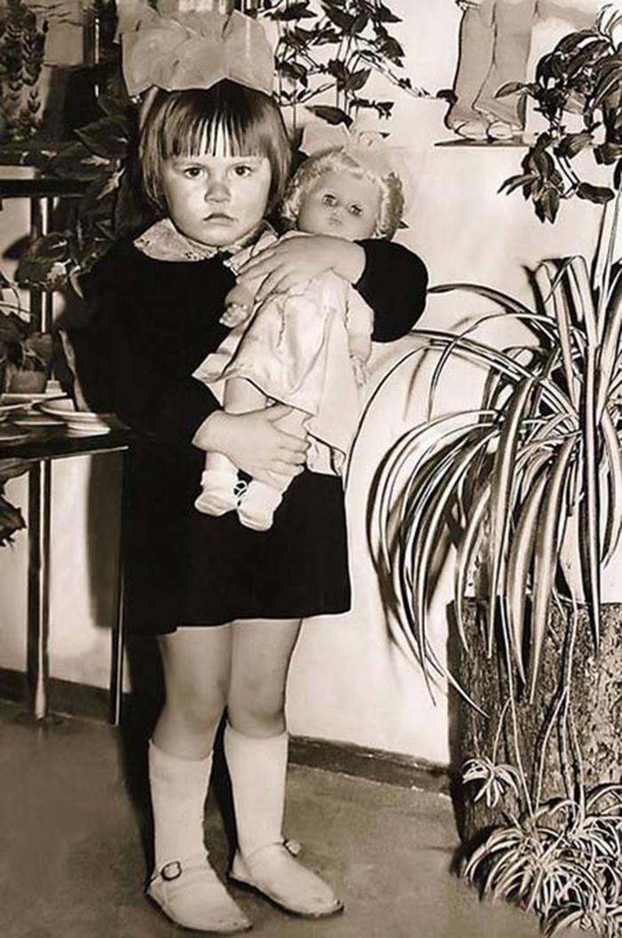 Наталья Рагозина в детстве