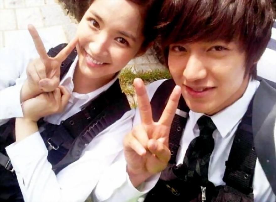 пак бо ён и Ли Мин Хо