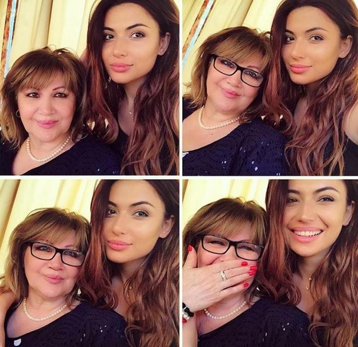самира гаджиева с мамой