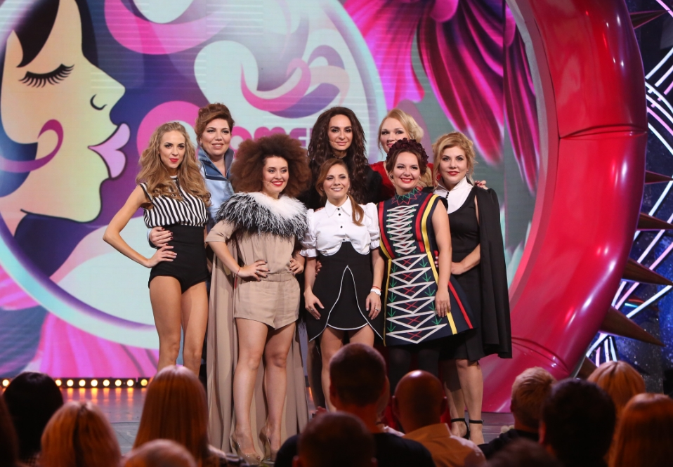 Мария Кравченко в шоу «Comedy Woman»