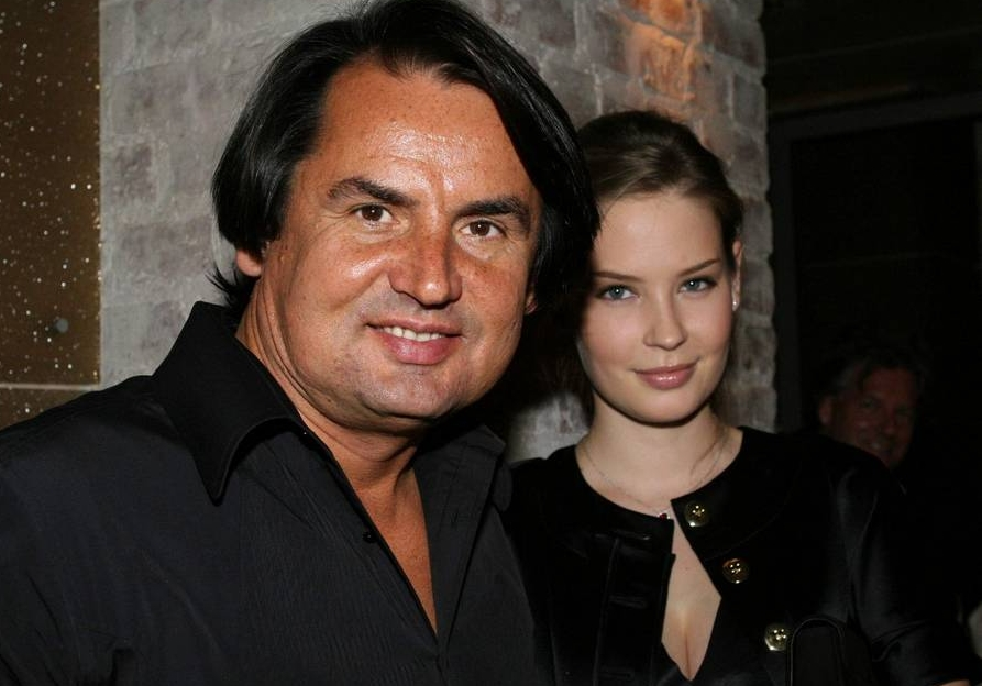 Алена Гаврилова с первым мужем