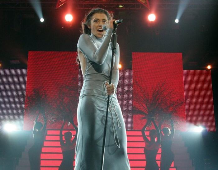 Алина Астровская на сцене