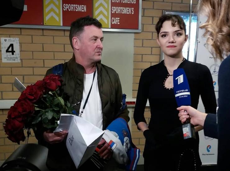 Брайан Орсер тренер Евгении Медведевой