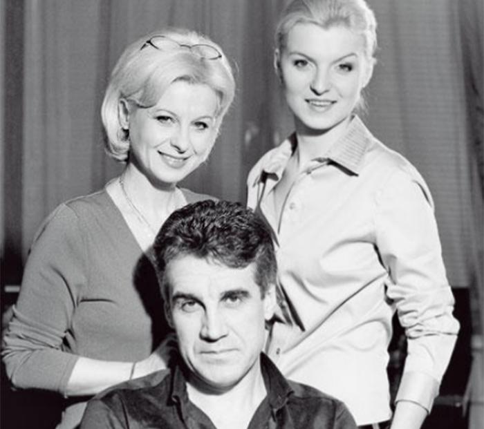 пиманова валентина с мужем и дочкой