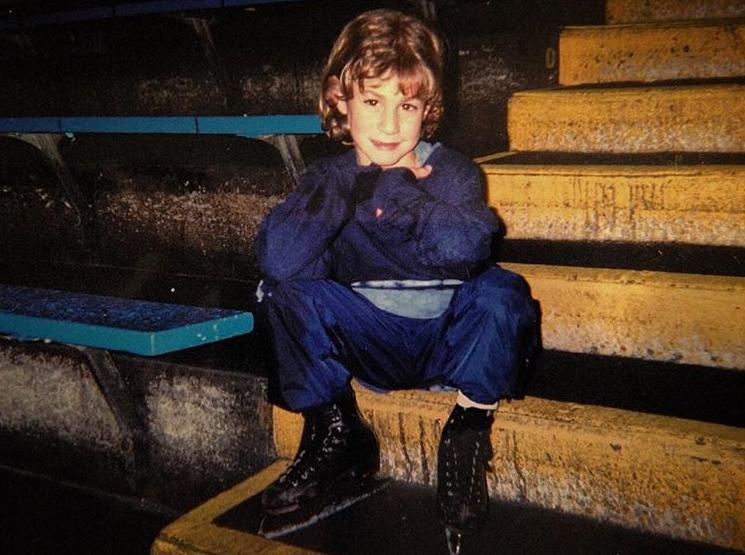Джейсон Браун в детстве
