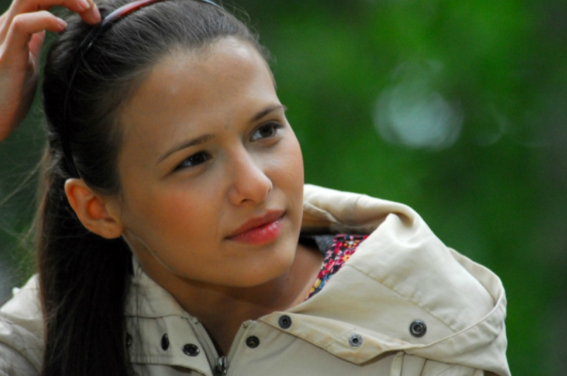 Любовь Аксенова в детстве