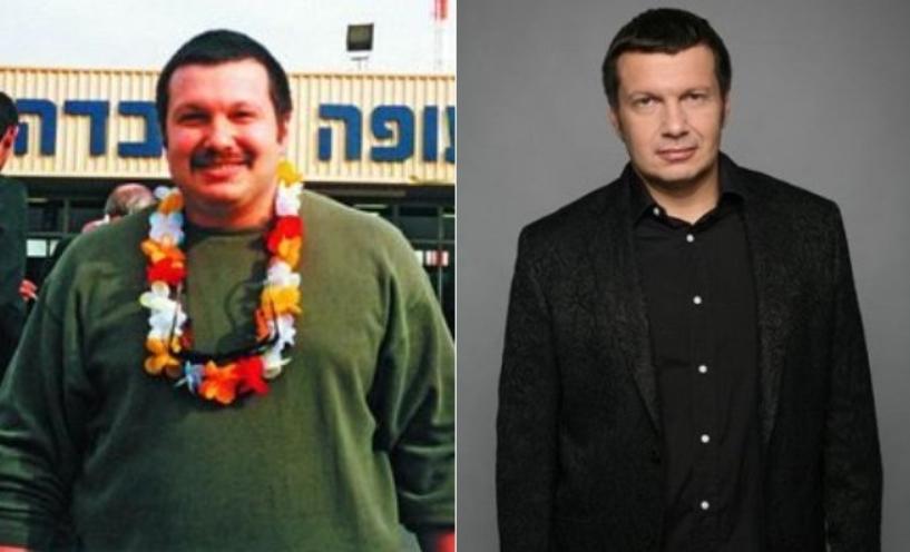 Владимир Соловьев до и после похудения