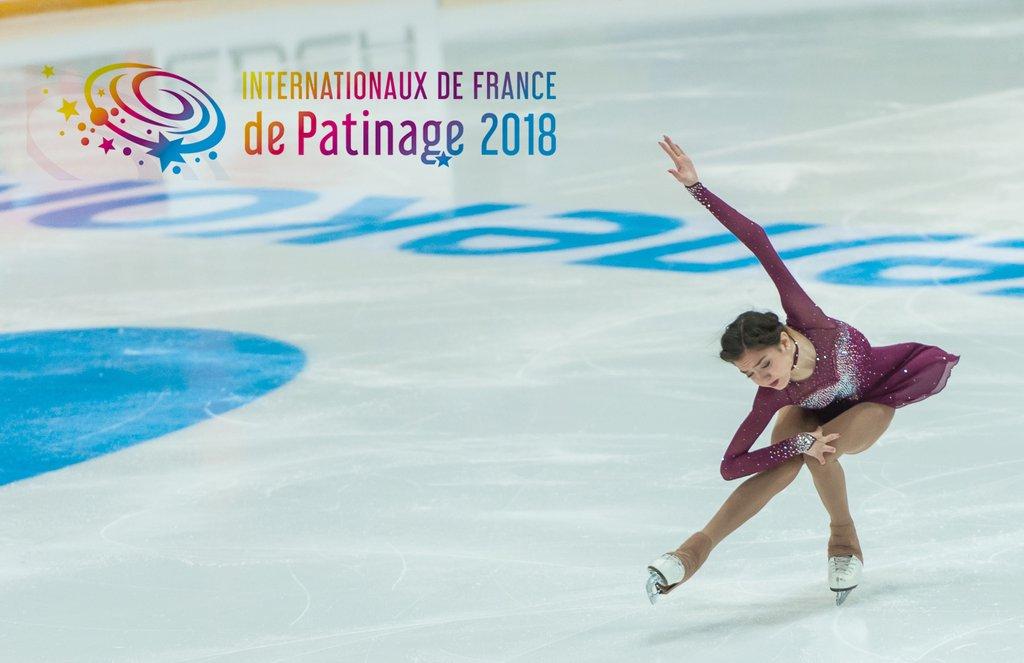 евгения медведева Гран-при Франции 2018