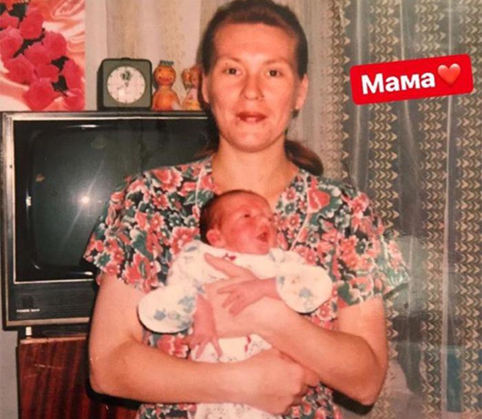 анна горохова с мамой
